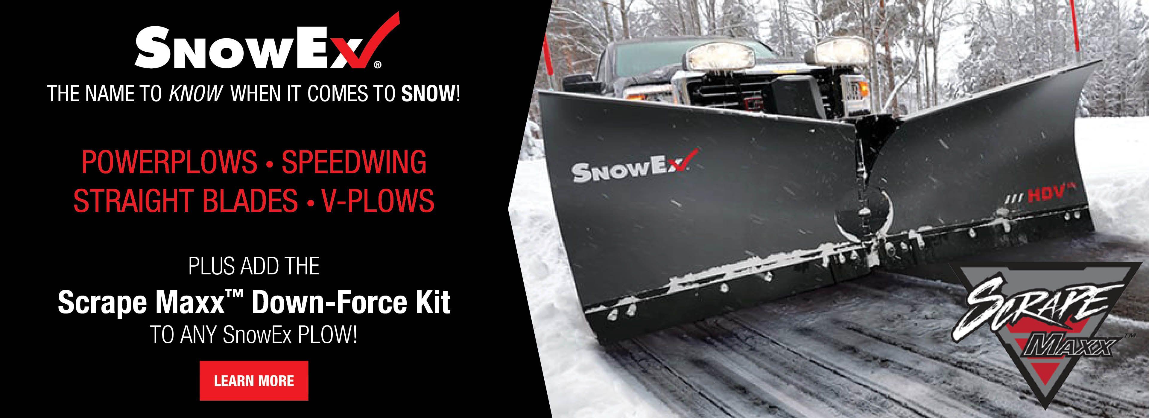 SnowEx Scrape Maxx