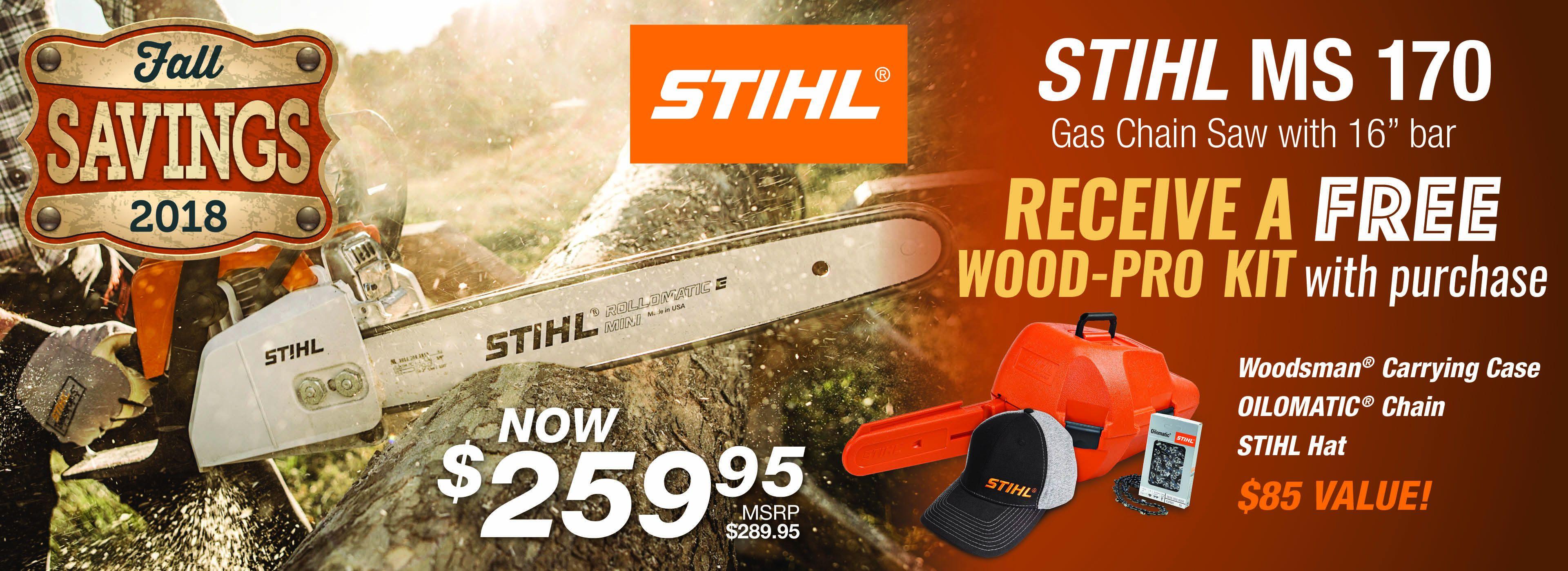 STIHL Wood-Pro Kit 2018