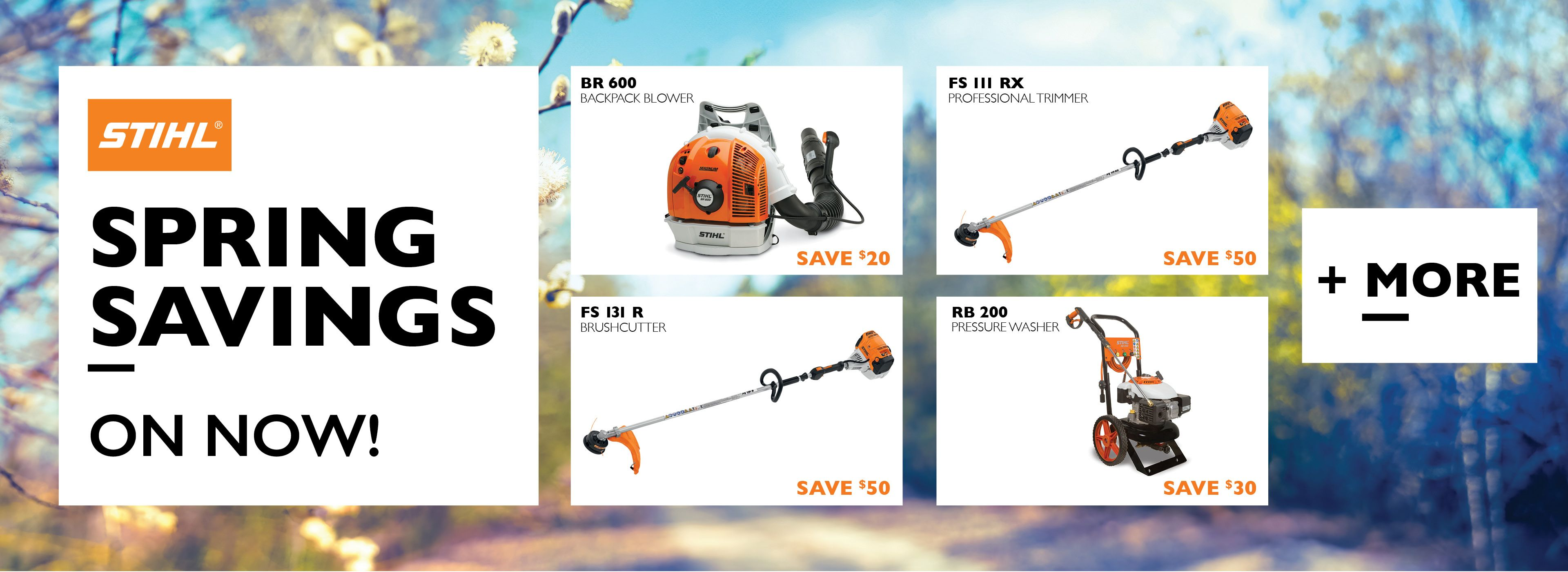 2021 Stihl Spring Savings