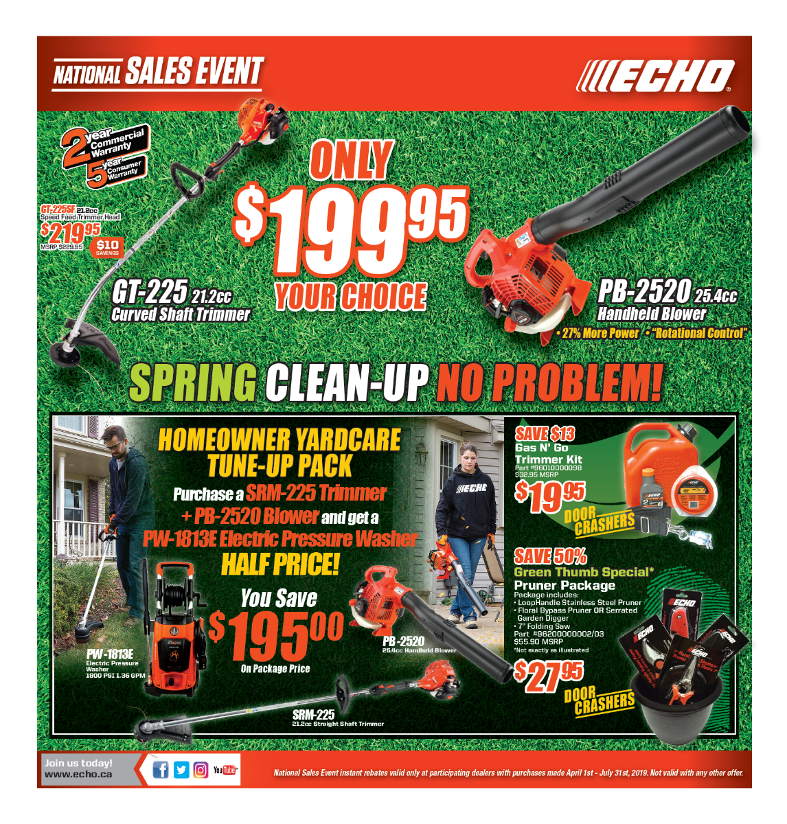 ECHO Sale Flyer 1
