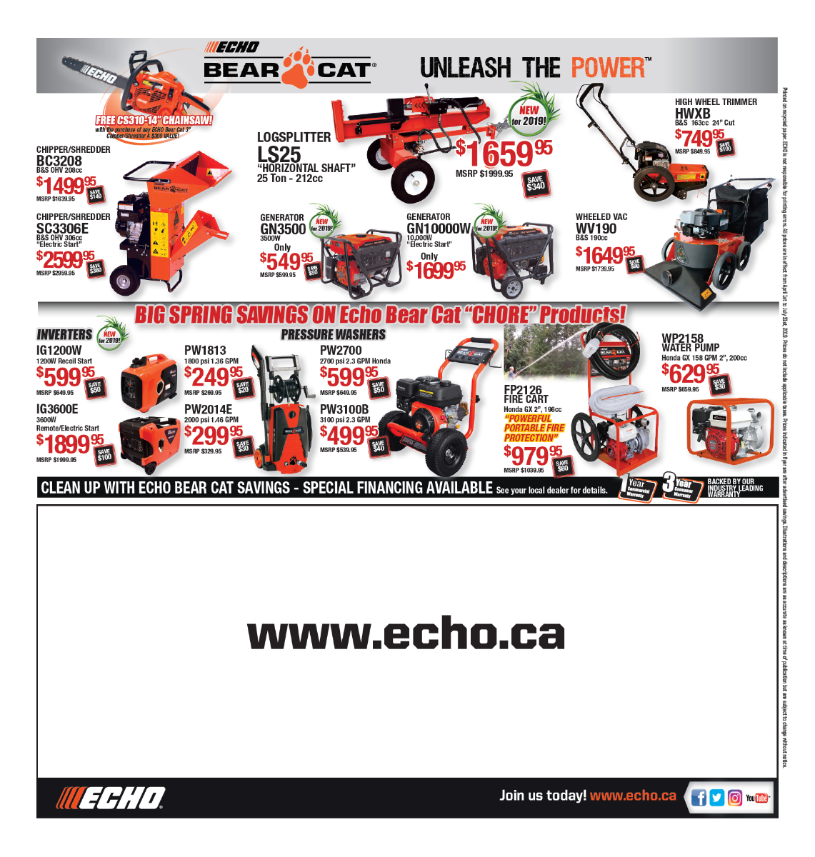 ECHO Sale Flyer 4