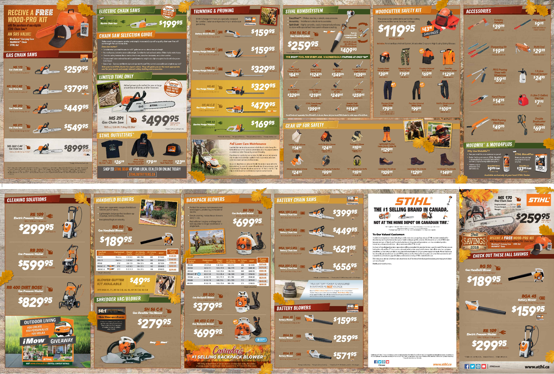 STIHL Fall Flyer