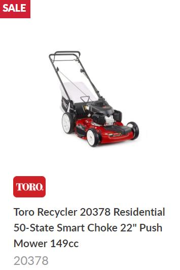 Toro Super Recycler