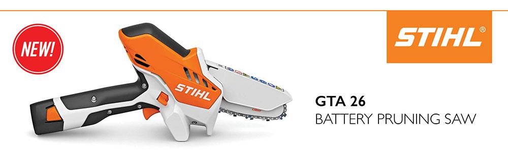 New STIHL GTA 26