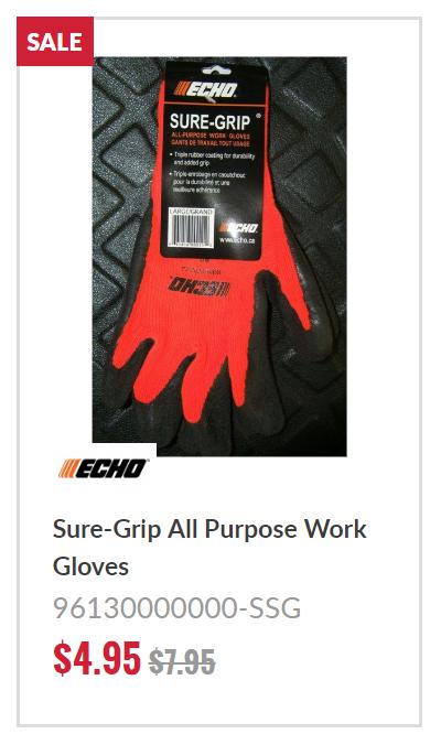 ECHO Sure Grip Gloves
